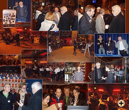 Orchester Wind & Brass spielt für Freiwilligenbörse Hamburg und das Filmfestival Hamburg über morgen